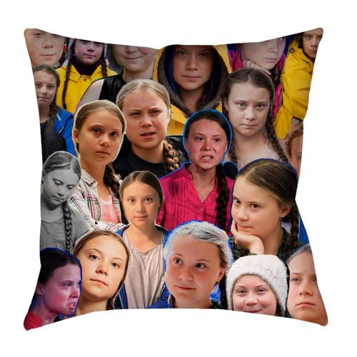 Greta Thunberg pillowcase
