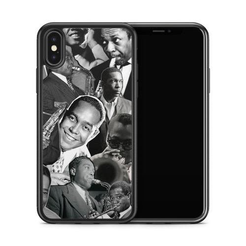 Jazz Legends (Miles Davis, Charlie Parker, John Coltrane, Louis Armstrong & Duke Ellington) phone case x