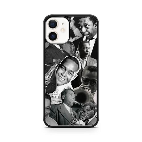 Jazz Legends (Miles Davis, Charlie Parker, John Coltrane, Louis Armstrong & Duke Ellington) phone case 12