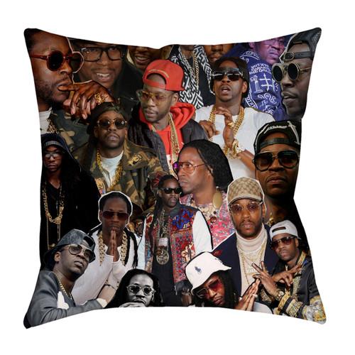 2 Chainz pillowcase