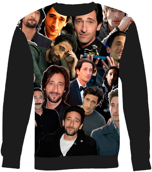 Adrien Brody sweatshirt