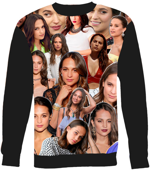 Alicia Vikander sweatshirt