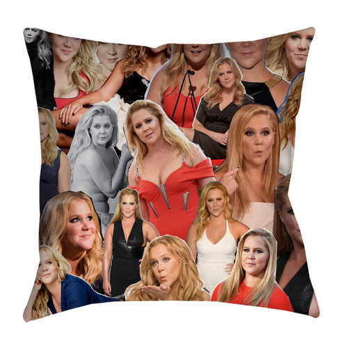 Amy Schumer Photo Collage Pillowcase