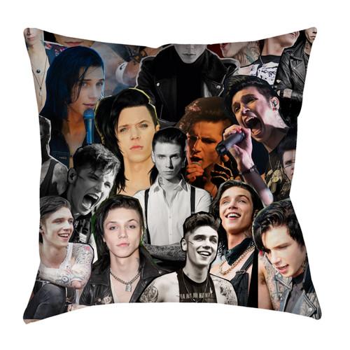 Andy Biersack Black Veil Brides pillowcase