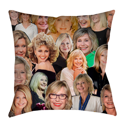 Olivia Newton-John pillowcase
