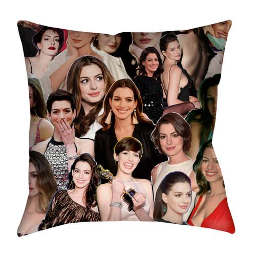 Anne Hathaway pillowcase