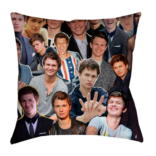 Ansel Elgort pillowcase