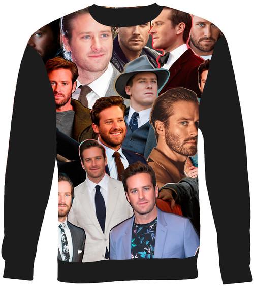 Armie Hammer sweatshirt