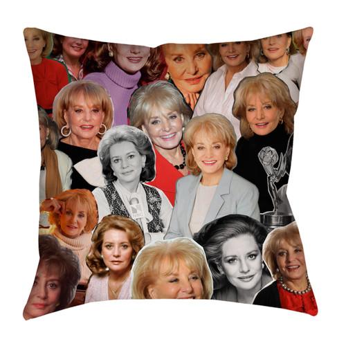 Barbara Walters pillowcase