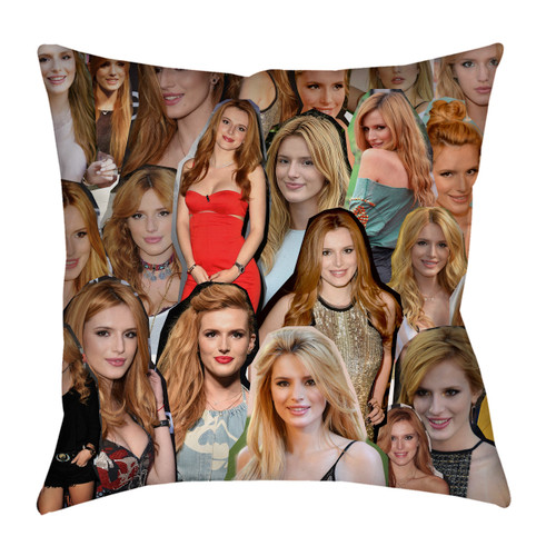 Bella Thorne Photo Collage Pillowcase
