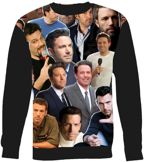 Ben Affleck Collage Sweater Sweatshirt