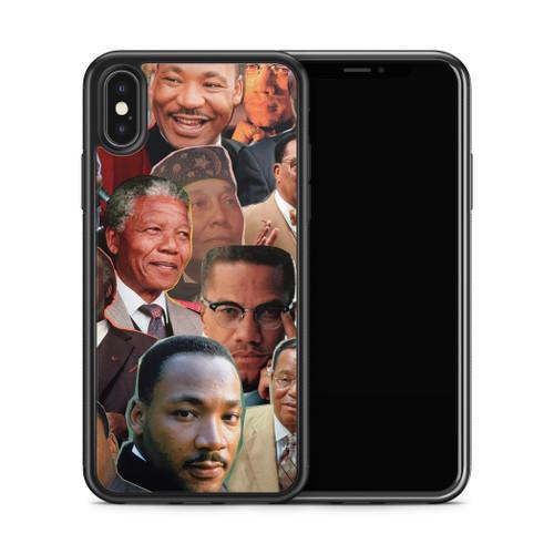 Black Leaders phone case x