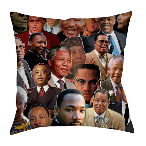 Black Leaders pillowcase
