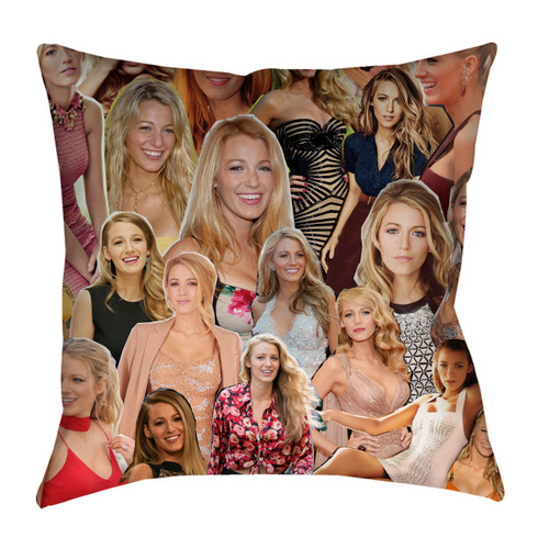 Blake Lively pillowcase