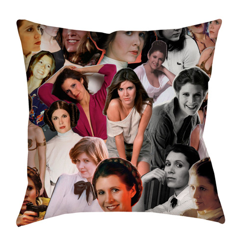Carrie Fisher pillowcase