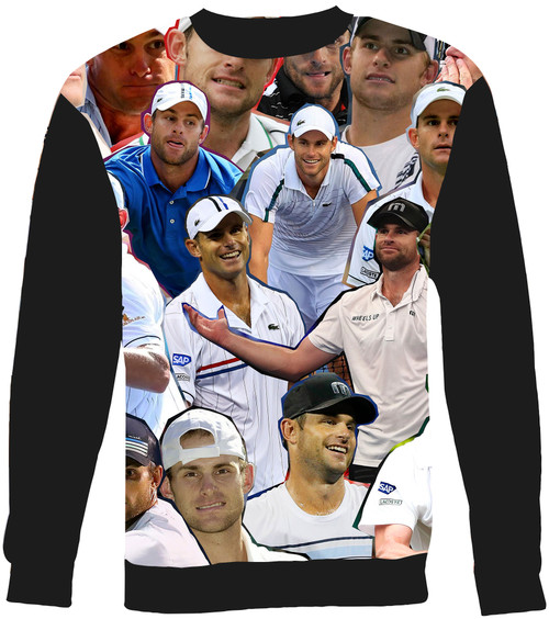 Andy Roddick Collage Sweater Sweatshirt