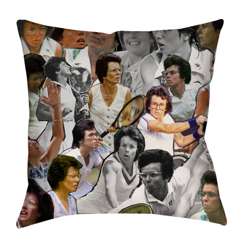 Billie Jean King pillowcase
