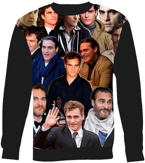 Joaquin Phoenix Collage Sweater Sweatshirt