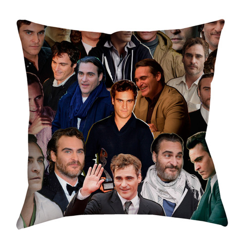 Joaquin Phoenix pillowcase