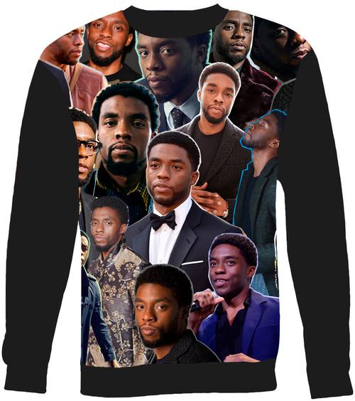 Chadwick Boseman Collage Sweater Sweatshirt
