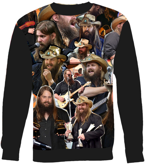 Chris Stapleton Collage Sweater Sweatshirt