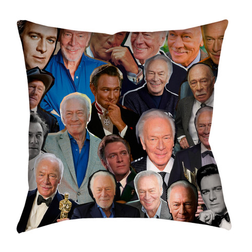 Christopher Plummer pillowcase
