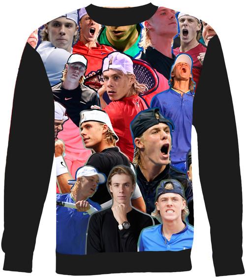 Denis Shapovalov Collage Sweater Sweatshirt