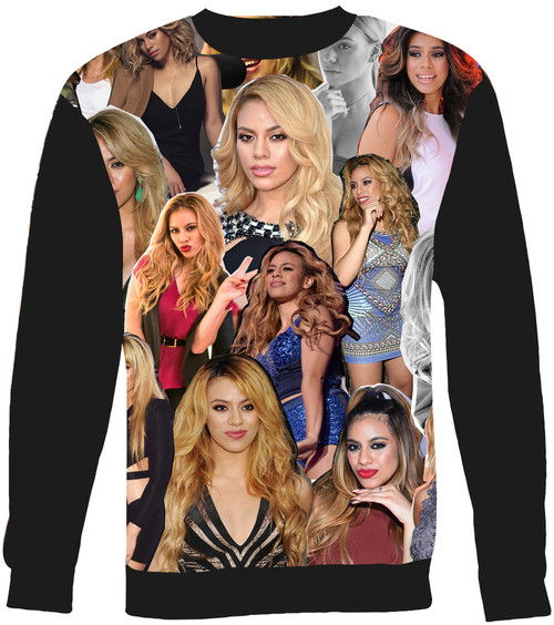 Dinah Jane Collage Sweater Sweatshirt