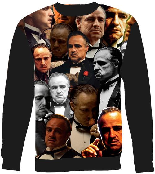 Don Vito Corleone Collage Sweater Sweatshirt