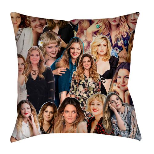 Drew Barrymore Photo Collage Pillowcase