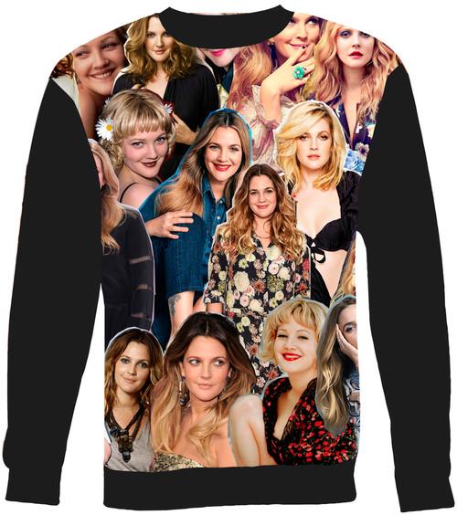 Drew Barrymore Collage Sweater Sweatshirt