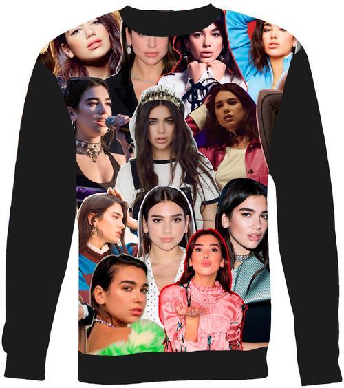 Dua Lipa Collage Sweater Sweatshirt