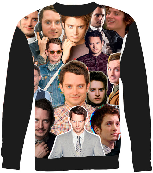 Elijah Wood Collage Sweater Sweatshirt