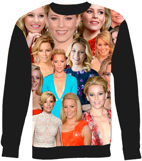 Elizabeth Banks Collage Sweater Sweatshirt