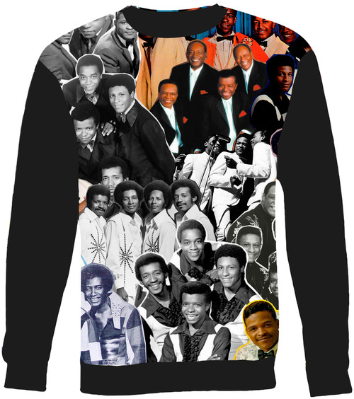 Little Anthony and the Imperials Collage Sweater Sweatshirt