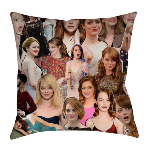 Emma Stone pillowcase
