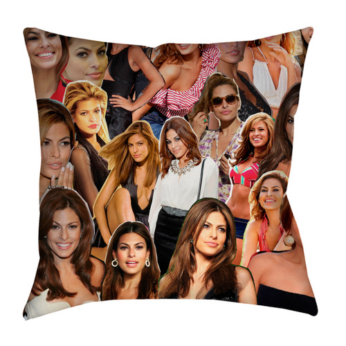 Eva Mendes pillowcase