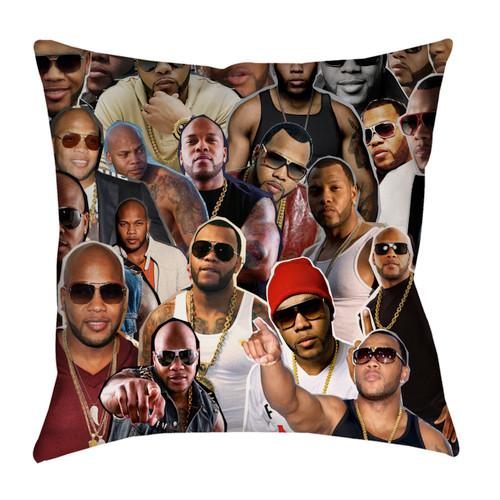 Flo Rida Photo Collage Pillowcase