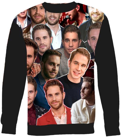 Ben Platt Collage Sweater Sweatshirt