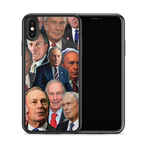 Michael Bloomberg phone case x