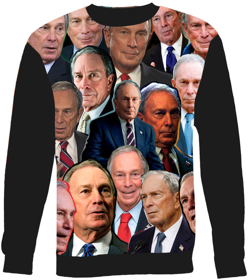 Michael Bloomberg sweatshirt