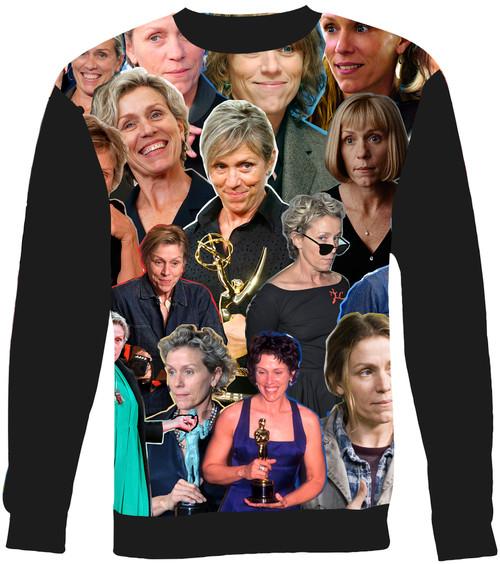 Frances McDormand Collage Sweater Sweatshirt