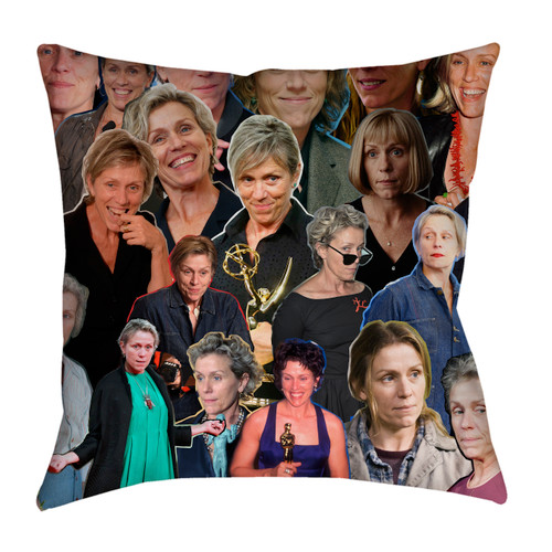 Frances McDormand pillowcase
