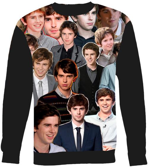 Freddie Highmore sweatshirt