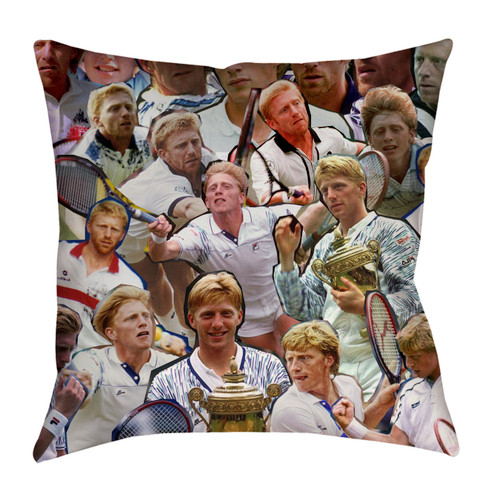 Boris Becker pillowcase