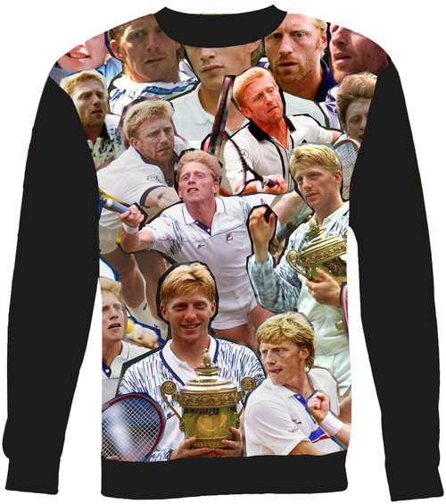 Boris Becker sweatshirt