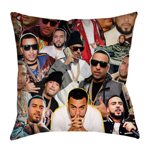 French Montana pillowcase