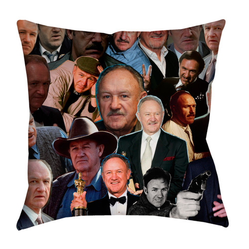 Gene Hackman pillowcase