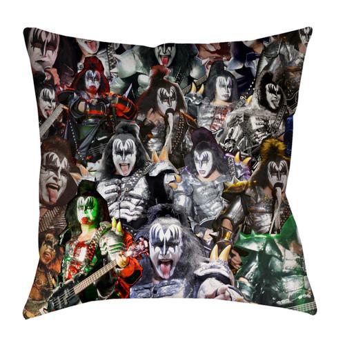 Gene Simmons pillowcase