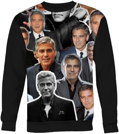 George Clooney sweatshirt